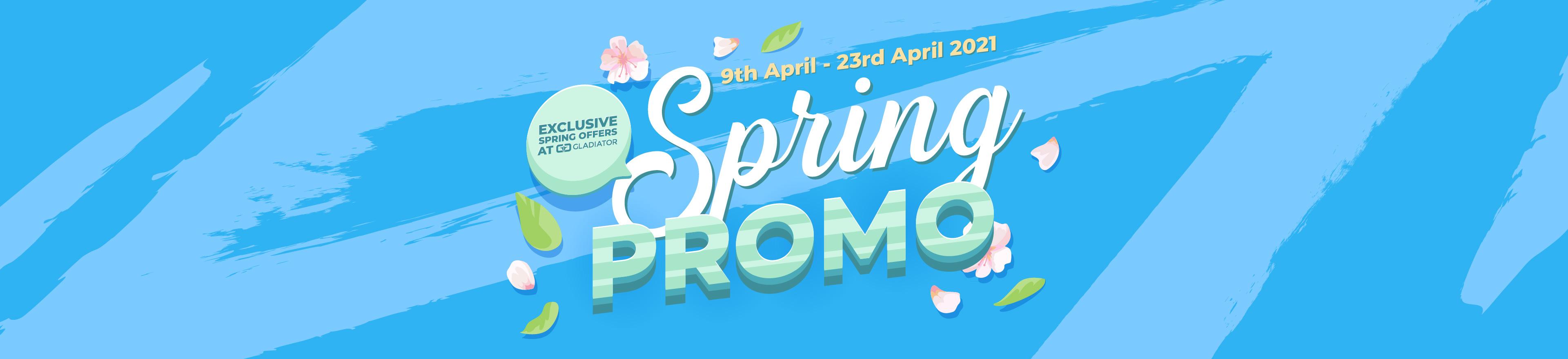 Spring Promo 2021